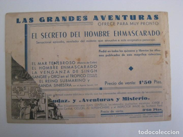 Comics: HISPANO AMERICANA - EL HOMBRE ENMASCARADO. LOTE DE 82 EJEMPLARES (GRAN FORMATO). AÑO 1941 - Foto 109 - 121658267