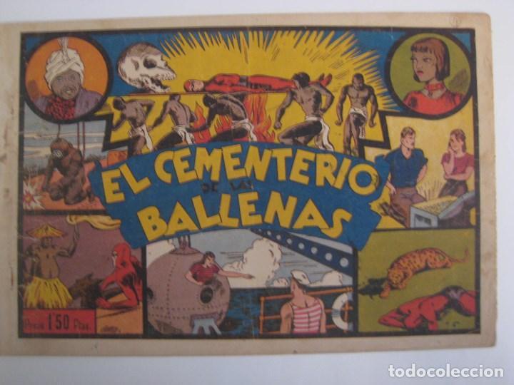Comics: HISPANO AMERICANA - EL HOMBRE ENMASCARADO. LOTE DE 82 EJEMPLARES (GRAN FORMATO). AÑO 1941 - Foto 110 - 121658267