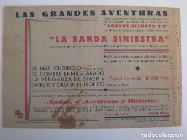Comics: HISPANO AMERICANA - EL HOMBRE ENMASCARADO. LOTE DE 82 EJEMPLARES (GRAN FORMATO). AÑO 1941 - Foto 111 - 121658267