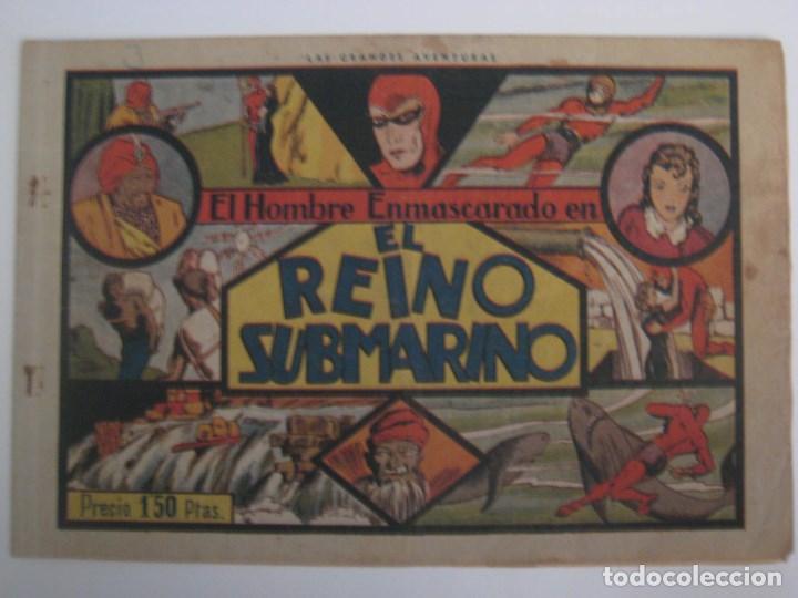 Comics: HISPANO AMERICANA - EL HOMBRE ENMASCARADO. LOTE DE 82 EJEMPLARES (GRAN FORMATO). AÑO 1941 - Foto 112 - 121658267