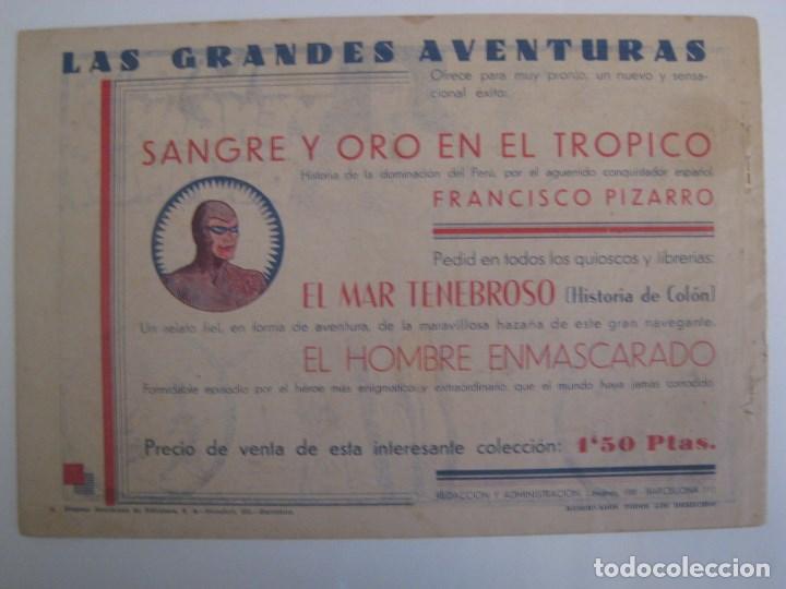 Comics: HISPANO AMERICANA - EL HOMBRE ENMASCARADO. LOTE DE 82 EJEMPLARES (GRAN FORMATO). AÑO 1941 - Foto 113 - 121658267