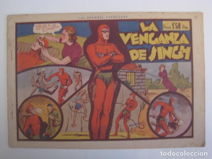 Comics: HISPANO AMERICANA - EL HOMBRE ENMASCARADO. LOTE DE 82 EJEMPLARES (GRAN FORMATO). AÑO 1941 - Foto 114 - 121658267