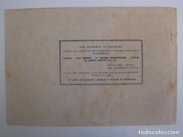 Comics: HISPANO AMERICANA - EL HOMBRE ENMASCARADO. LOTE DE 82 EJEMPLARES (GRAN FORMATO). AÑO 1941 - Foto 115 - 121658267