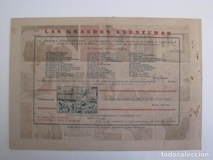 Comics: HISPANO AMERICANA - EL HOMBRE ENMASCARADO. LOTE DE 82 EJEMPLARES (GRAN FORMATO). AÑO 1941 - Foto 117 - 121658267