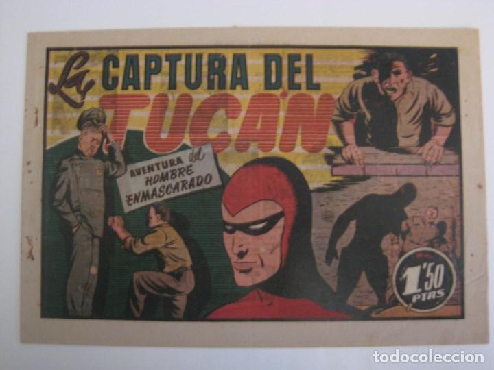 Comics: HISPANO AMERICANA - EL HOMBRE ENMASCARADO. LOTE DE 82 EJEMPLARES (GRAN FORMATO). AÑO 1941 - Foto 118 - 121658267