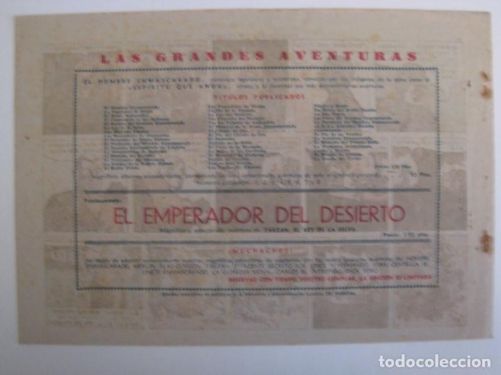 Comics: HISPANO AMERICANA - EL HOMBRE ENMASCARADO. LOTE DE 82 EJEMPLARES (GRAN FORMATO). AÑO 1941 - Foto 119 - 121658267