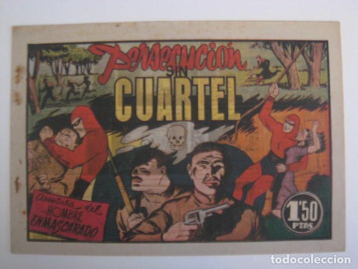 Comics: HISPANO AMERICANA - EL HOMBRE ENMASCARADO. LOTE DE 82 EJEMPLARES (GRAN FORMATO). AÑO 1941 - Foto 120 - 121658267