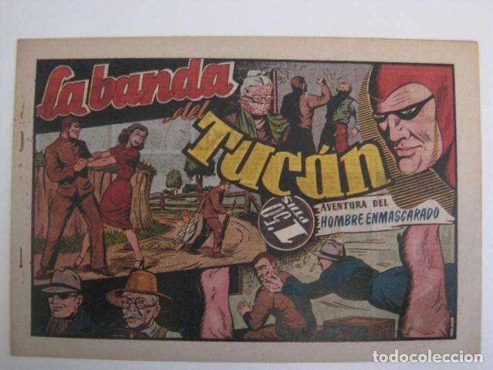 Comics: HISPANO AMERICANA - EL HOMBRE ENMASCARADO. LOTE DE 82 EJEMPLARES (GRAN FORMATO). AÑO 1941 - Foto 122 - 121658267