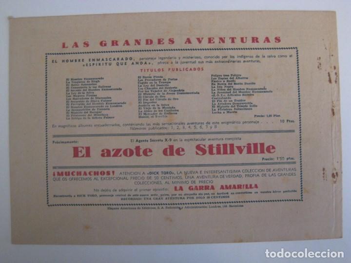 Comics: HISPANO AMERICANA - EL HOMBRE ENMASCARADO. LOTE DE 82 EJEMPLARES (GRAN FORMATO). AÑO 1941 - Foto 123 - 121658267