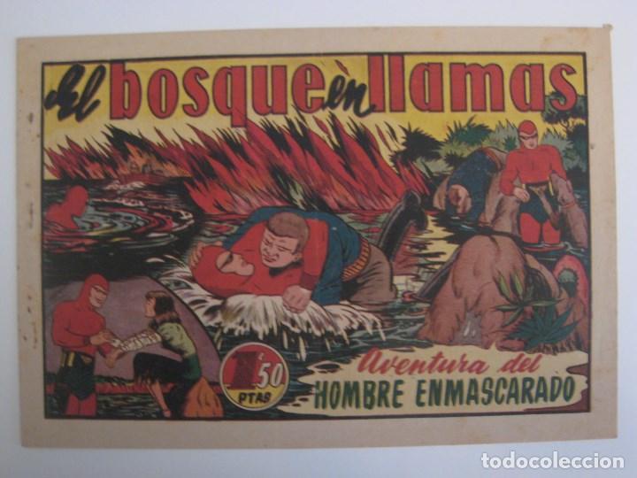 Comics: HISPANO AMERICANA - EL HOMBRE ENMASCARADO. LOTE DE 82 EJEMPLARES (GRAN FORMATO). AÑO 1941 - Foto 124 - 121658267