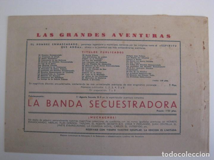Comics: HISPANO AMERICANA - EL HOMBRE ENMASCARADO. LOTE DE 82 EJEMPLARES (GRAN FORMATO). AÑO 1941 - Foto 125 - 121658267