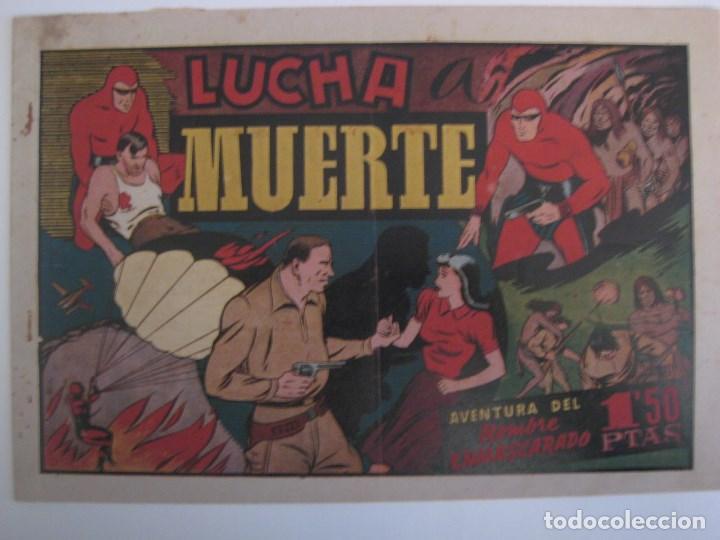 Comics: HISPANO AMERICANA - EL HOMBRE ENMASCARADO. LOTE DE 82 EJEMPLARES (GRAN FORMATO). AÑO 1941 - Foto 126 - 121658267