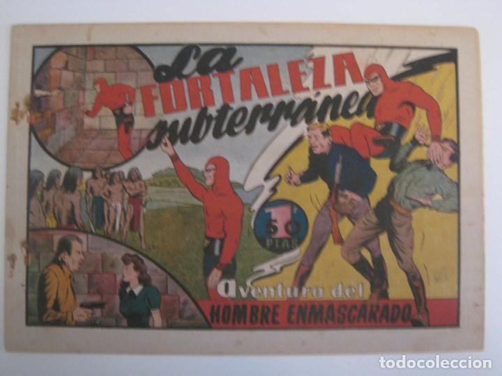Comics: HISPANO AMERICANA - EL HOMBRE ENMASCARADO. LOTE DE 82 EJEMPLARES (GRAN FORMATO). AÑO 1941 - Foto 128 - 121658267