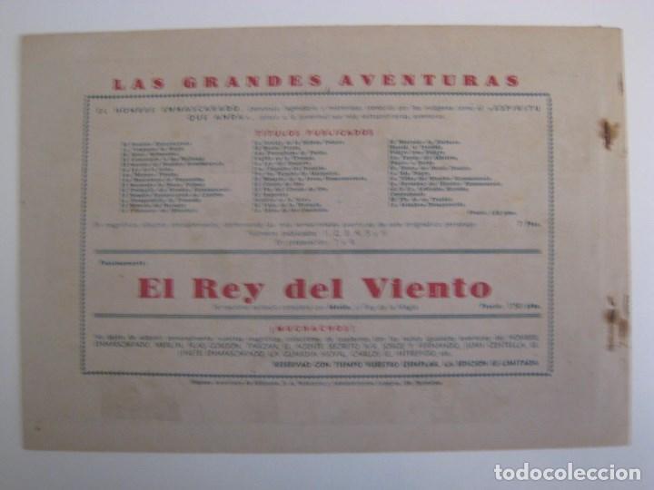 Comics: HISPANO AMERICANA - EL HOMBRE ENMASCARADO. LOTE DE 82 EJEMPLARES (GRAN FORMATO). AÑO 1941 - Foto 129 - 121658267