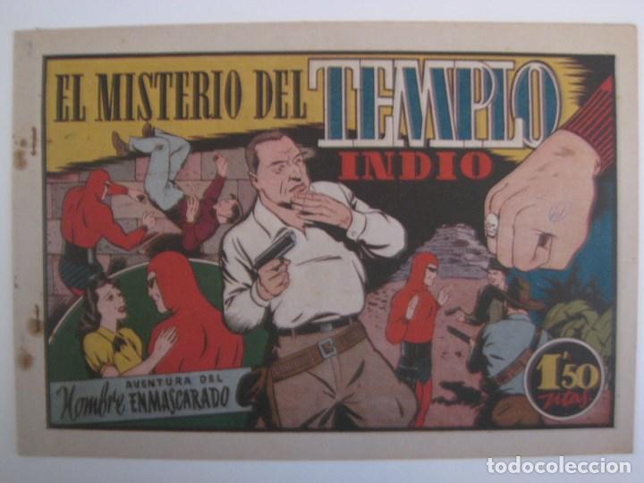 Comics: HISPANO AMERICANA - EL HOMBRE ENMASCARADO. LOTE DE 82 EJEMPLARES (GRAN FORMATO). AÑO 1941 - Foto 130 - 121658267