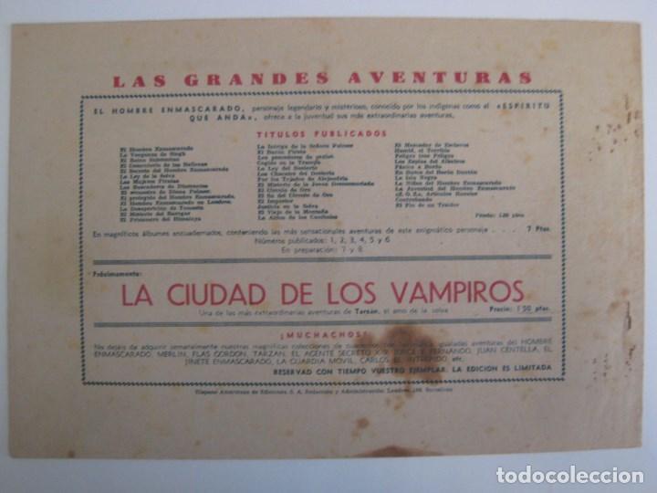 Comics: HISPANO AMERICANA - EL HOMBRE ENMASCARADO. LOTE DE 82 EJEMPLARES (GRAN FORMATO). AÑO 1941 - Foto 131 - 121658267