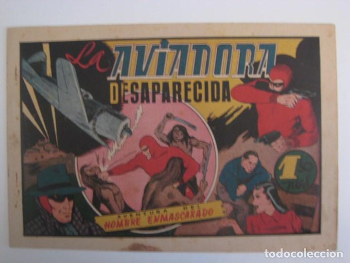 Comics: HISPANO AMERICANA - EL HOMBRE ENMASCARADO. LOTE DE 82 EJEMPLARES (GRAN FORMATO). AÑO 1941 - Foto 132 - 121658267