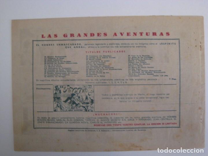Comics: HISPANO AMERICANA - EL HOMBRE ENMASCARADO. LOTE DE 82 EJEMPLARES (GRAN FORMATO). AÑO 1941 - Foto 133 - 121658267