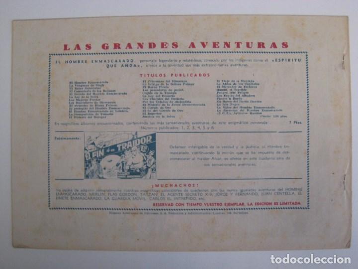 Comics: HISPANO AMERICANA - EL HOMBRE ENMASCARADO. LOTE DE 82 EJEMPLARES (GRAN FORMATO). AÑO 1941 - Foto 135 - 121658267