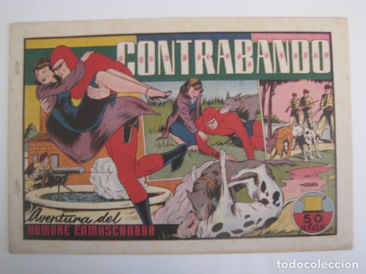 Comics: HISPANO AMERICANA - EL HOMBRE ENMASCARADO. LOTE DE 82 EJEMPLARES (GRAN FORMATO). AÑO 1941 - Foto 136 - 121658267
