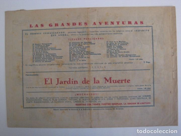 Comics: HISPANO AMERICANA - EL HOMBRE ENMASCARADO. LOTE DE 82 EJEMPLARES (GRAN FORMATO). AÑO 1941 - Foto 137 - 121658267