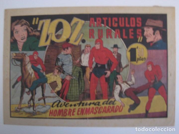 Comics: HISPANO AMERICANA - EL HOMBRE ENMASCARADO. LOTE DE 82 EJEMPLARES (GRAN FORMATO). AÑO 1941 - Foto 138 - 121658267