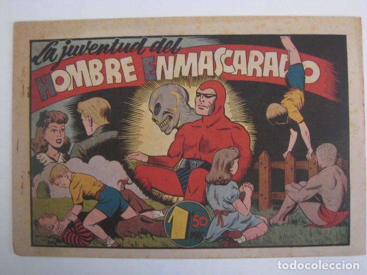 Comics: HISPANO AMERICANA - EL HOMBRE ENMASCARADO. LOTE DE 82 EJEMPLARES (GRAN FORMATO). AÑO 1941 - Foto 140 - 121658267