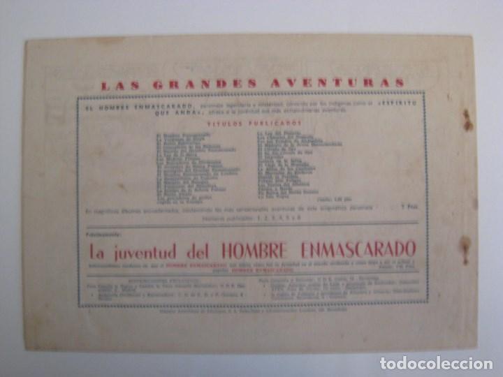 Comics: HISPANO AMERICANA - EL HOMBRE ENMASCARADO. LOTE DE 82 EJEMPLARES (GRAN FORMATO). AÑO 1941 - Foto 141 - 121658267