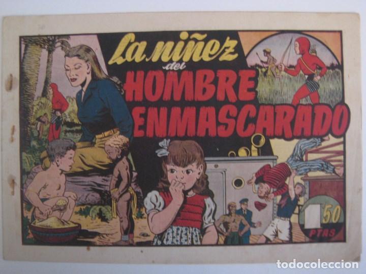Comics: HISPANO AMERICANA - EL HOMBRE ENMASCARADO. LOTE DE 82 EJEMPLARES (GRAN FORMATO). AÑO 1941 - Foto 142 - 121658267