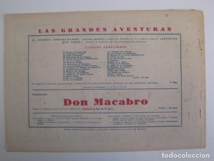 Comics: HISPANO AMERICANA - EL HOMBRE ENMASCARADO. LOTE DE 82 EJEMPLARES (GRAN FORMATO). AÑO 1941 - Foto 143 - 121658267