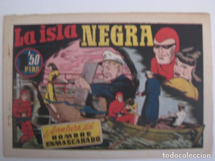 Comics: HISPANO AMERICANA - EL HOMBRE ENMASCARADO. LOTE DE 82 EJEMPLARES (GRAN FORMATO). AÑO 1941 - Foto 144 - 121658267