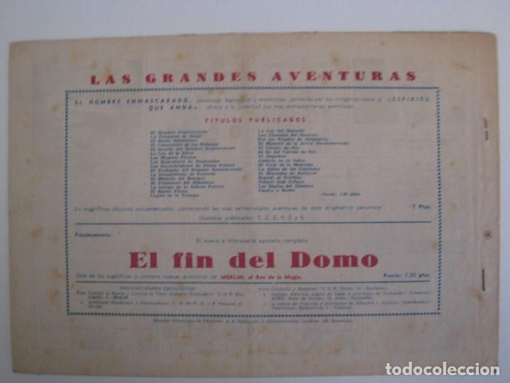 Comics: HISPANO AMERICANA - EL HOMBRE ENMASCARADO. LOTE DE 82 EJEMPLARES (GRAN FORMATO). AÑO 1941 - Foto 145 - 121658267