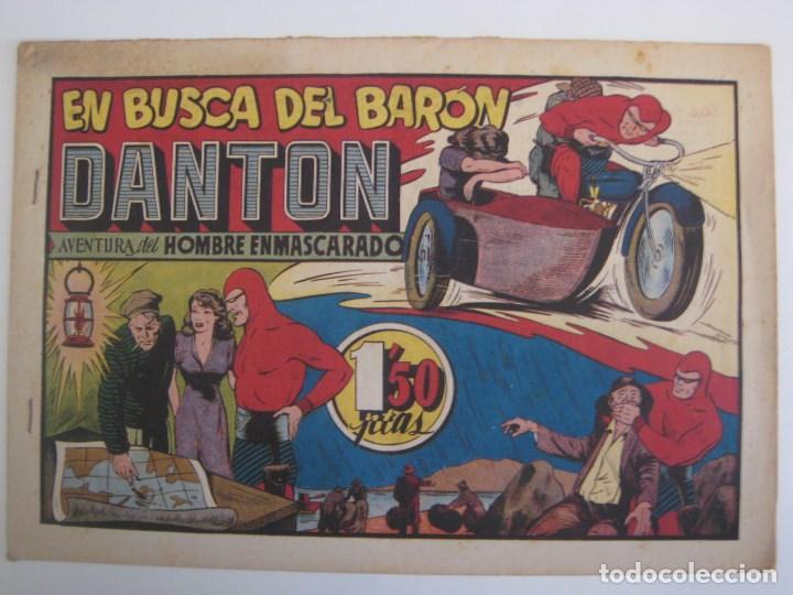 Comics: HISPANO AMERICANA - EL HOMBRE ENMASCARADO. LOTE DE 82 EJEMPLARES (GRAN FORMATO). AÑO 1941 - Foto 146 - 121658267