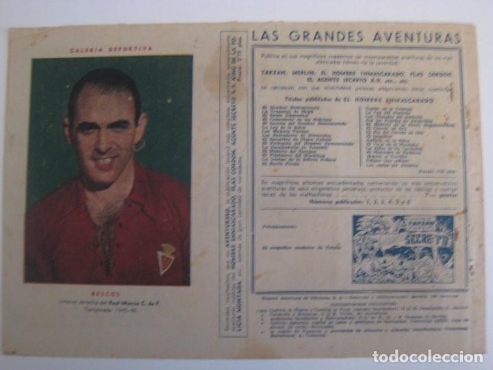 Comics: HISPANO AMERICANA - EL HOMBRE ENMASCARADO. LOTE DE 82 EJEMPLARES (GRAN FORMATO). AÑO 1941 - Foto 147 - 121658267