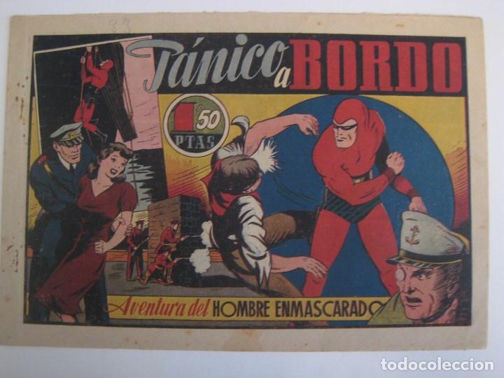 Comics: HISPANO AMERICANA - EL HOMBRE ENMASCARADO. LOTE DE 82 EJEMPLARES (GRAN FORMATO). AÑO 1941 - Foto 148 - 121658267
