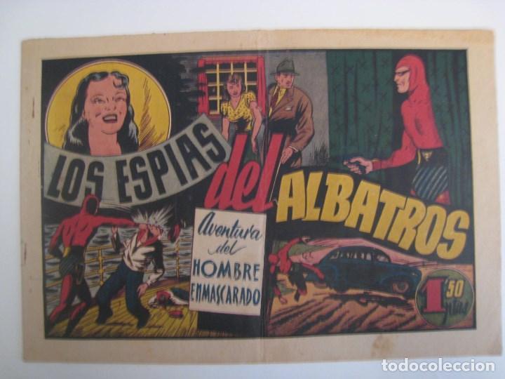 Comics: HISPANO AMERICANA - EL HOMBRE ENMASCARADO. LOTE DE 82 EJEMPLARES (GRAN FORMATO). AÑO 1941 - Foto 150 - 121658267
