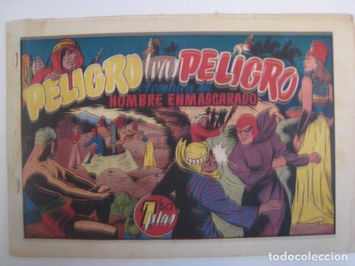 Comics: HISPANO AMERICANA - EL HOMBRE ENMASCARADO. LOTE DE 82 EJEMPLARES (GRAN FORMATO). AÑO 1941 - Foto 152 - 121658267