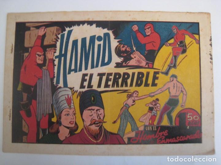 Comics: HISPANO AMERICANA - EL HOMBRE ENMASCARADO. LOTE DE 82 EJEMPLARES (GRAN FORMATO). AÑO 1941 - Foto 154 - 121658267