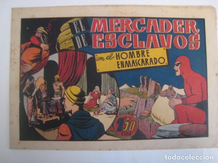 Comics: HISPANO AMERICANA - EL HOMBRE ENMASCARADO. LOTE DE 82 EJEMPLARES (GRAN FORMATO). AÑO 1941 - Foto 156 - 121658267