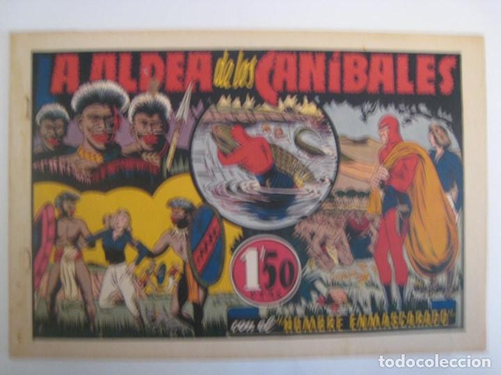 Comics: HISPANO AMERICANA - EL HOMBRE ENMASCARADO. LOTE DE 82 EJEMPLARES (GRAN FORMATO). AÑO 1941 - Foto 158 - 121658267