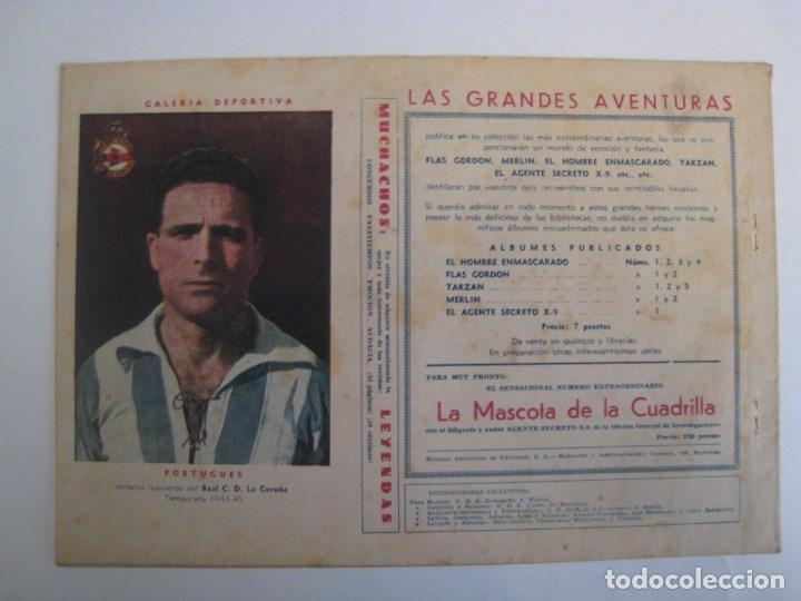 Comics: HISPANO AMERICANA - EL HOMBRE ENMASCARADO. LOTE DE 82 EJEMPLARES (GRAN FORMATO). AÑO 1941 - Foto 159 - 121658267