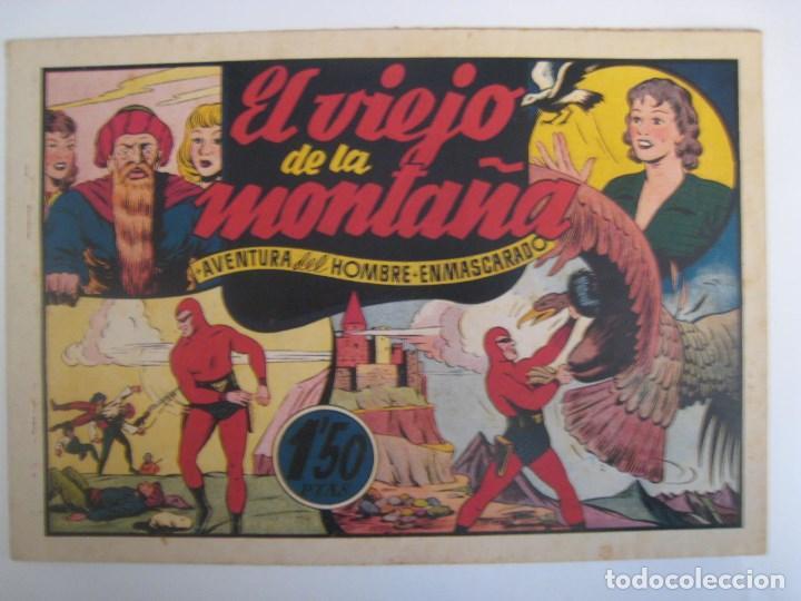 Comics: HISPANO AMERICANA - EL HOMBRE ENMASCARADO. LOTE DE 82 EJEMPLARES (GRAN FORMATO). AÑO 1941 - Foto 160 - 121658267