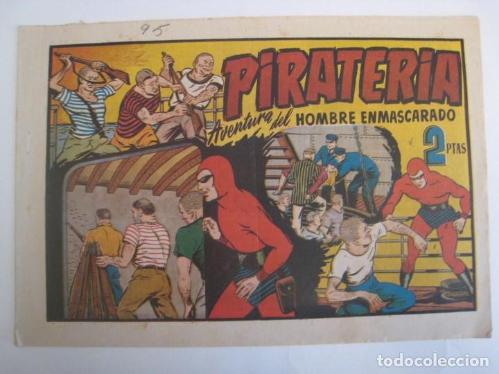 Comics: HISPANO AMERICANA - EL HOMBRE ENMASCARADO. LOTE DE 82 EJEMPLARES (GRAN FORMATO). AÑO 1941 - Foto 162 - 121658267