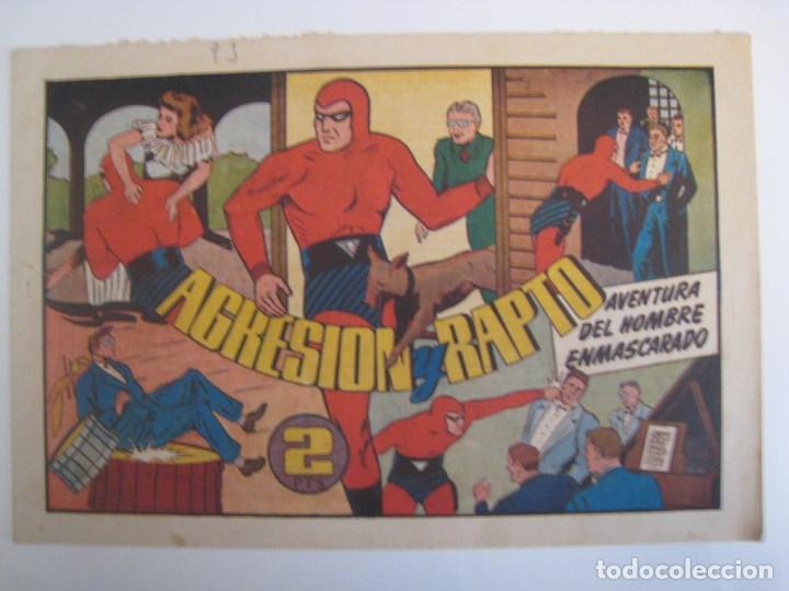 Comics: HISPANO AMERICANA - EL HOMBRE ENMASCARADO. LOTE DE 82 EJEMPLARES (GRAN FORMATO). AÑO 1941 - Foto 164 - 121658267