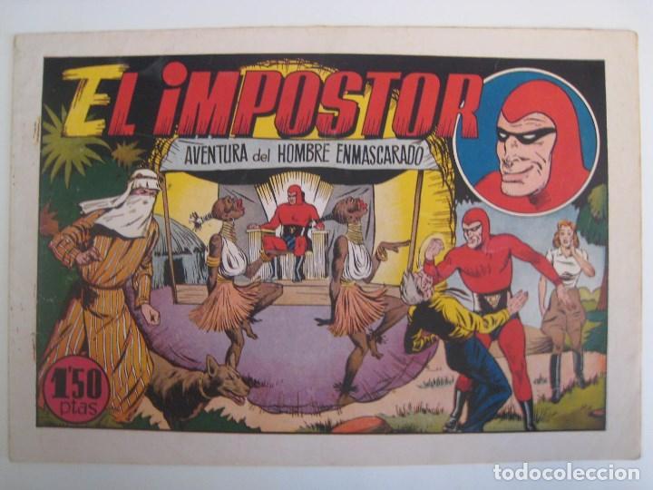 Comics: HISPANO AMERICANA - EL HOMBRE ENMASCARADO. LOTE DE 82 EJEMPLARES (GRAN FORMATO). AÑO 1941 - Foto 168 - 121658267