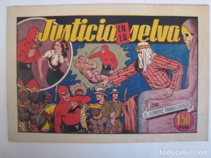 Comics: HISPANO AMERICANA - EL HOMBRE ENMASCARADO. LOTE DE 82 EJEMPLARES (GRAN FORMATO). AÑO 1941 - Foto 172 - 121658267