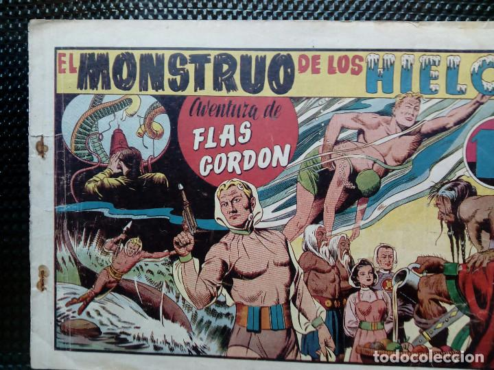 COMIC FLAS GORDON - HISPA. AMER. DE EDC, 1944 -ORIGINAL (M-2) (Tebeos y Comics - Hispano Americana - Flash Gordon)