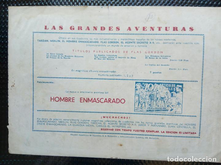 Tebeos: COMIC FLAS GORDON - HISPA. AMER. DE EDC, 1944 -ORIGINAL (M-2) - Foto 2 - 121683847