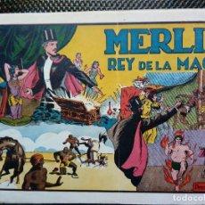 Tebeos: COMIC MERLIN EL REY DE LA MAGIA - HISPA.AMER. DE EDIC. 1944 ORIGINAL (M-2). Lote 121747619