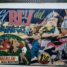 Tebeos: COMIC MERLIN EL MAGO MODERNO - HISPA.AMER. DE EDIC. 1944- ORIGINAL (M-2). Lote 121751439